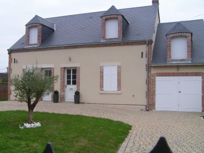 maison traditionnelle Sologne
