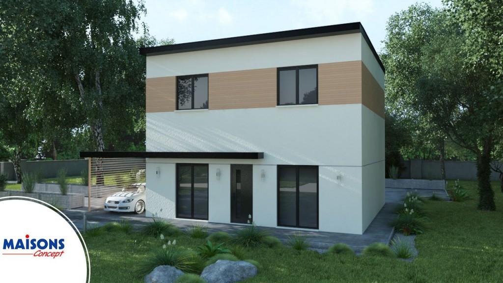 Maisons concept constructeur maison 37 49 et 72 for Maison moderne 69