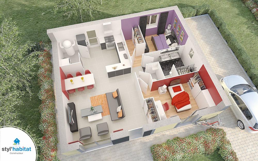 Constructeur de maison en r gion centre val de loire for Comment obtenir des plans de maison