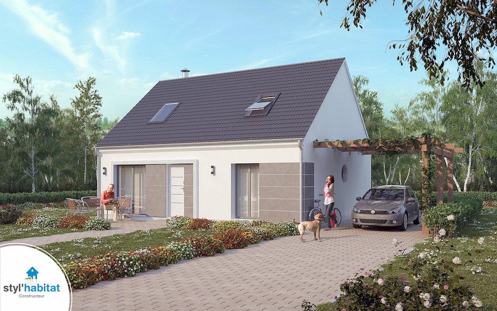 Styl habitat constructeur maison centre for Constructeur de maison region centre