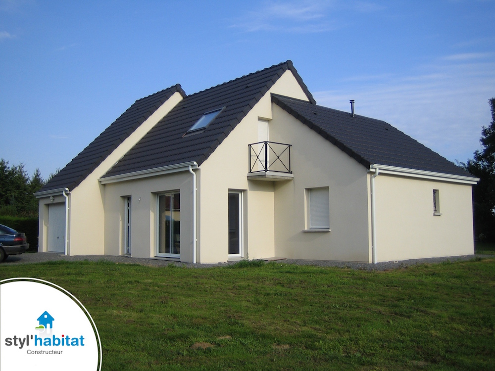 Styl habitat constructeur maison centre for Constructeur bourges